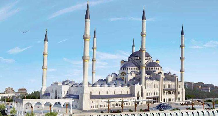 Çamlıca Camii İnşaatı Son Durum