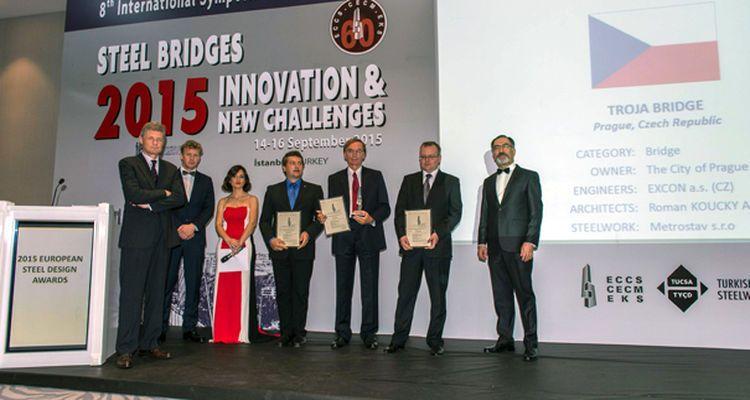 Avrupa Çelik Yapı Tasarım Ödülleri 2015!