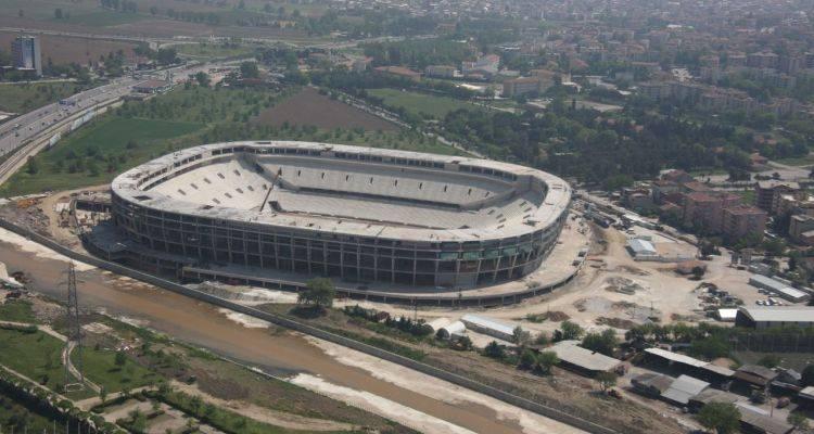 Timsah Arena İnşaatı'nda Son Durum