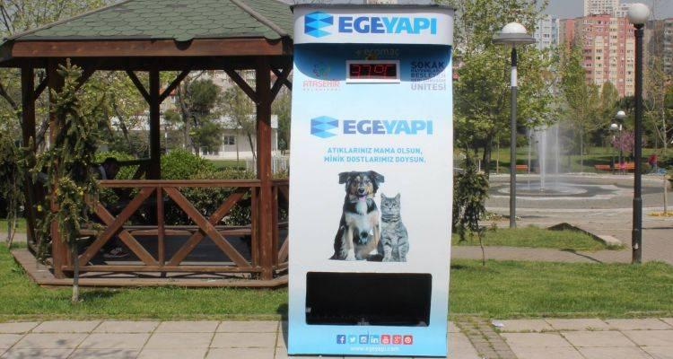 Ege Yapı'dan Sokak Hayvanlarına Destek