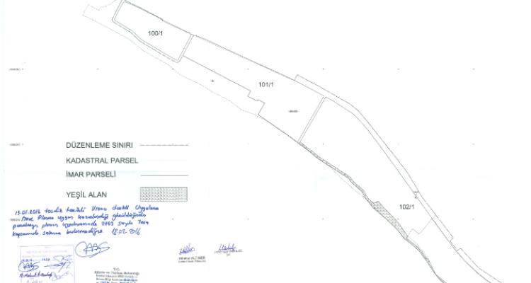 Bakırköy Şenlik Mahallesi Parselasyon Planı Askıda