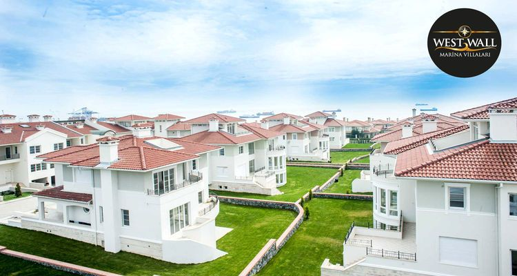 West Wall Marina 7 Farklı Tipte 64 Adet Villadan Oluşuyor