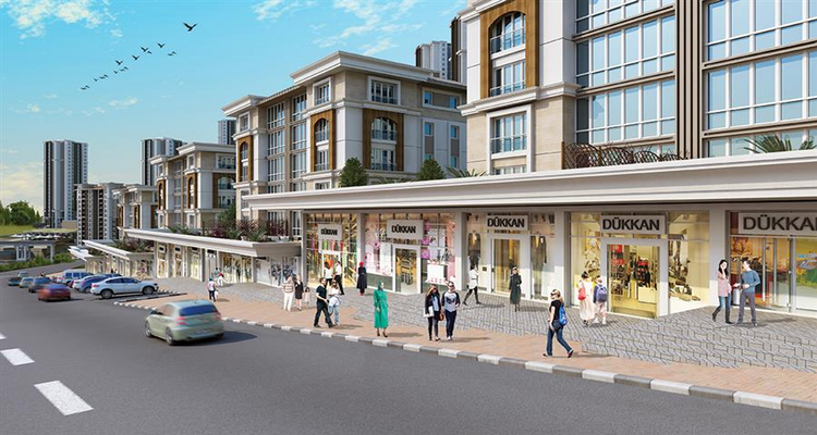 Kiptaş Vaditepe Cadde Dükkanları 24 Haziran'da Satışta