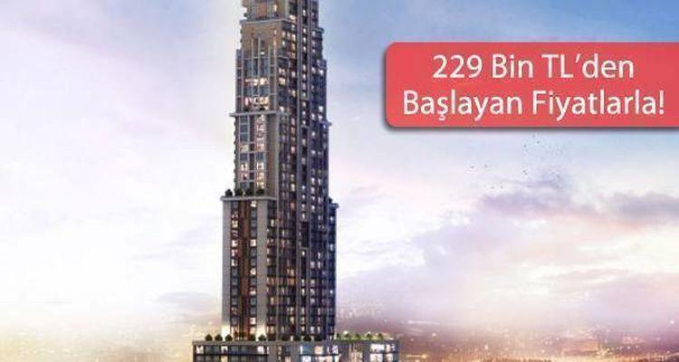 Aris Grand Tower Yüzde Yüz Prim Vaadiyle Satışta