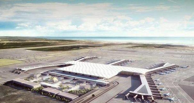3. Havalimanı'nın Havadan Son Görüntüleri