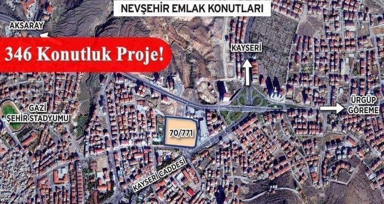 Nevşehir Emlak Konutları İhalesi 5 Mayıs'ta