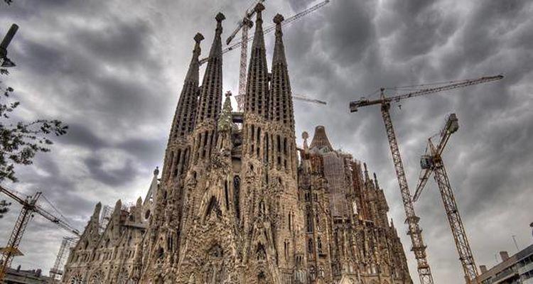 La Sagrada Familia'da Sona Yaklaşıldı