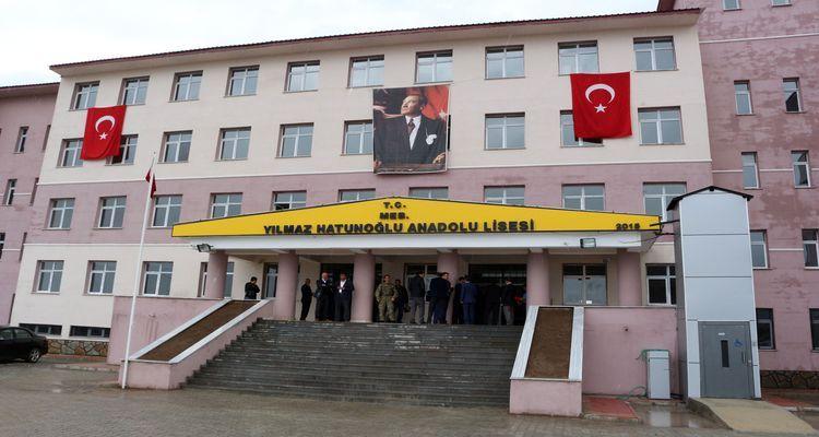 Ağrı Yılmaz Hatunoğlu Anadolu Lisesi Açıldı!