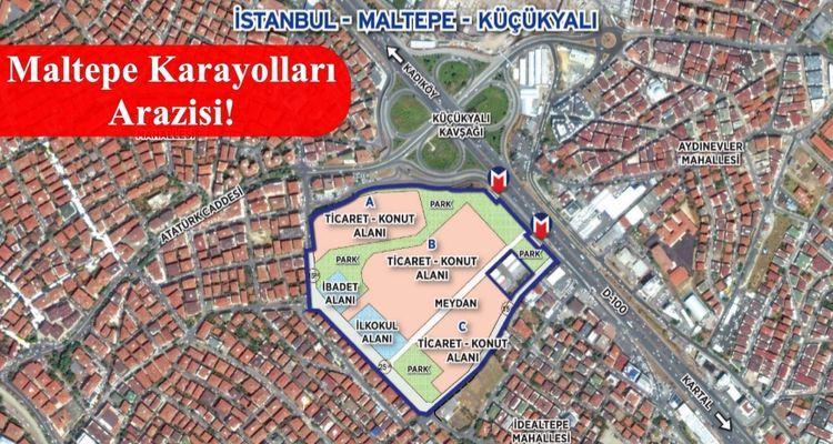 Emlak Konut Maltepe Küçükyalı İhalesi 26 Mayıs'ta