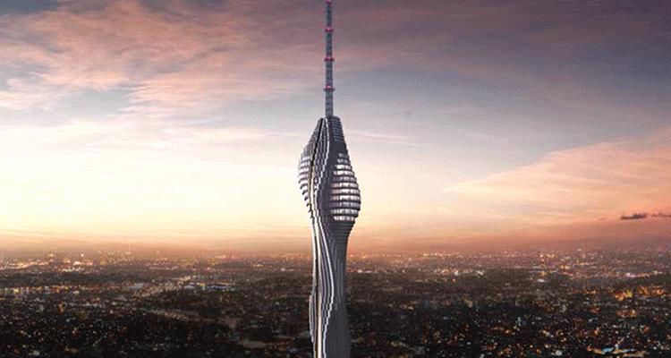 Küçük Çamlıca TV Radyo Kulesi'nin Temeli Atıldı