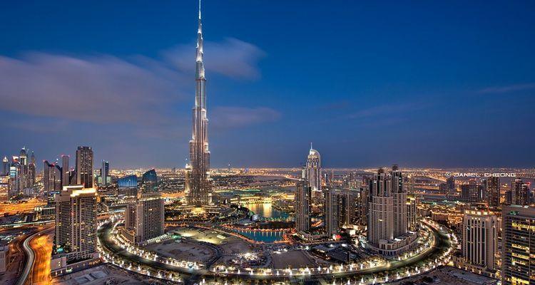 Dubai'ye Bin 828 Metrelik Gökdelen