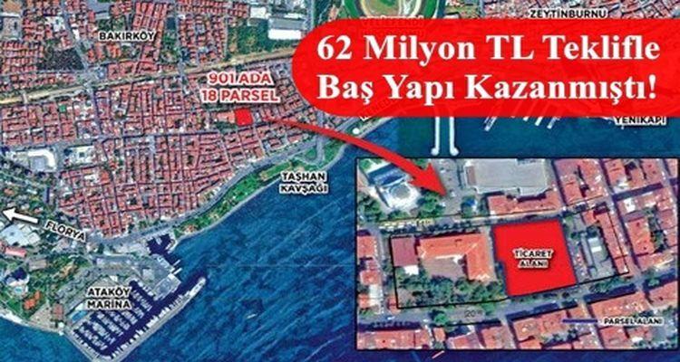 Emlak Konut Bakırköy Yenimahalle Projesinde Yer Teslimi Yapıldı