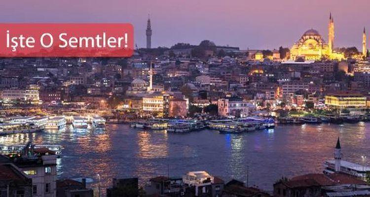 İstanbul'da Yeni İmar Planı Askıya Çıkan 13 Semt