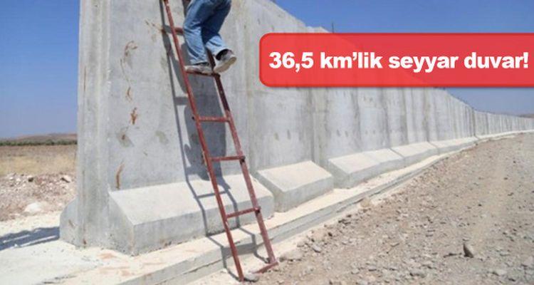 """""""Türk Seddi""""nin İlk Etabı Bitti!"""