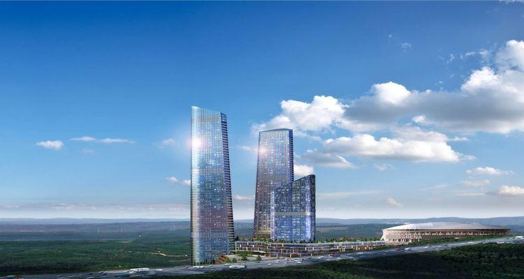 Skyland İstanbul Projesi 650 Bin TL'ye 1+0