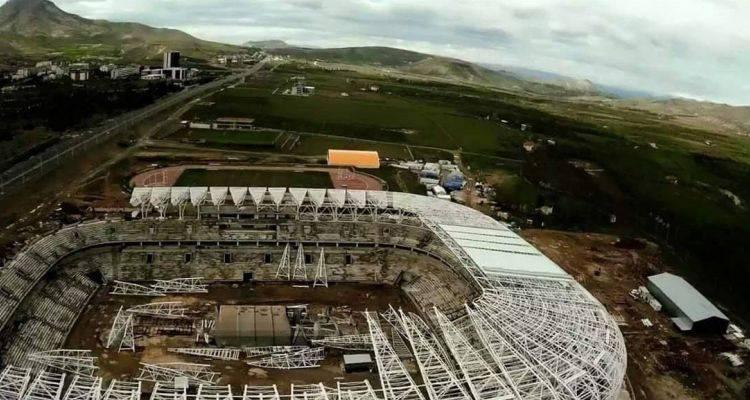 Malatya Arena Stadı Son Durum