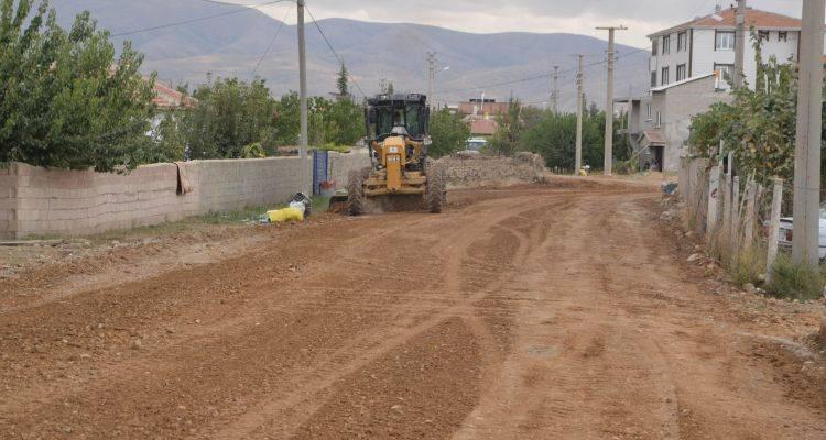 Konya Ereğli'de Yol Genişletme Çalışmaları Sürüyor!
