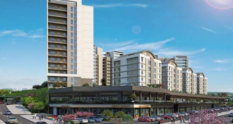 Kayaşehir Anacadde Projesi Aralık 2015'te Teslim