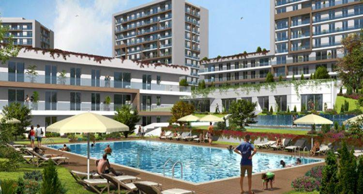 İstanbul Lounge 2 Projesinde 1+1 Daireler 302 Bin ira!