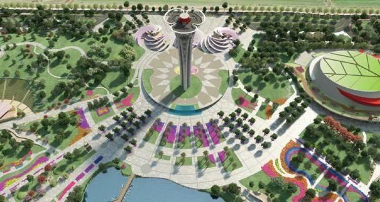 Antalya Expo'nun Kulesi Tamamlandı