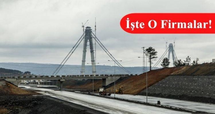 3. Köprü Bağlantı Yolları İhalesine 8 Firmadan Teklif Geldi