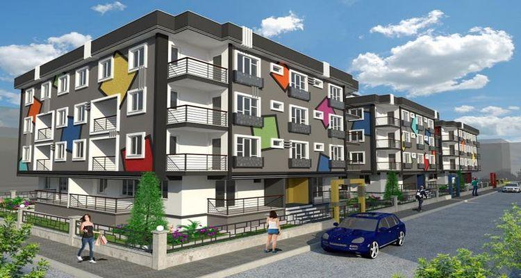 City in Çanakkale Projesi 3 Blok 122 Daireden Oluşuyor