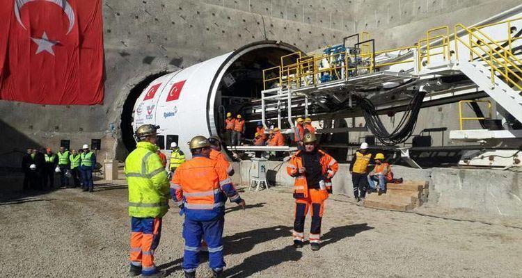 Türkiye'nin En Uzun Demiryolu Tünelinin Yapımına Başlandı