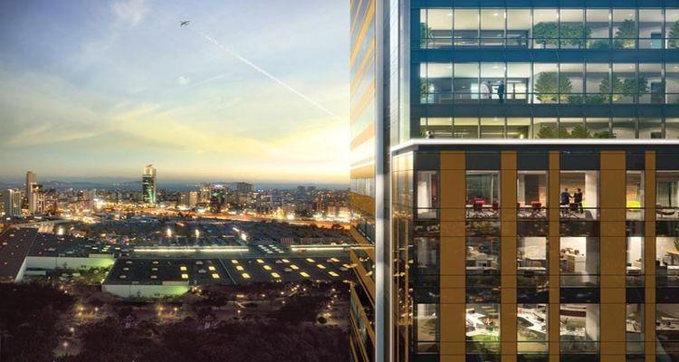 Palladium Tower 200 Ofisten Meydana Geliyor