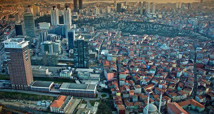 Avrupa'nın En Yüksek Şehri İstanbul