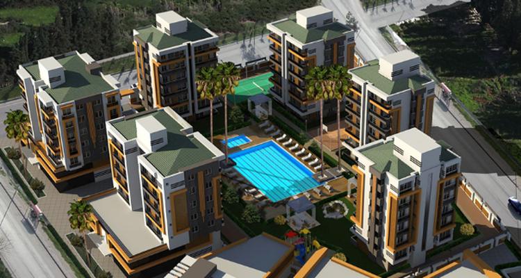 Samut Comfort City Projesi Kepez'de Yükseliyor