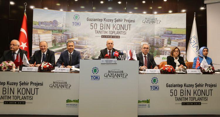 Gaziantep'te 50 Bin Konutluk Proje Tanıtıldı