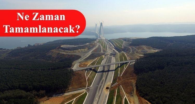 3. Köprü Bağlantı Yolları İhalesi Bugün
