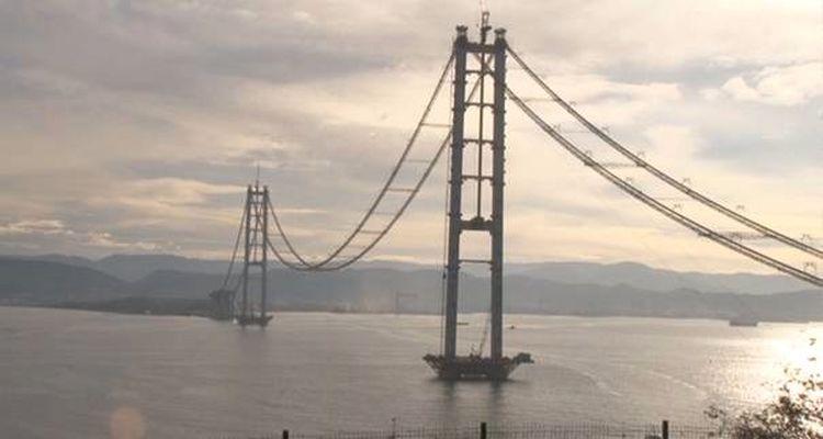 İzmit Körfez Geçiş Köprüsü'nde Sona Gelindi