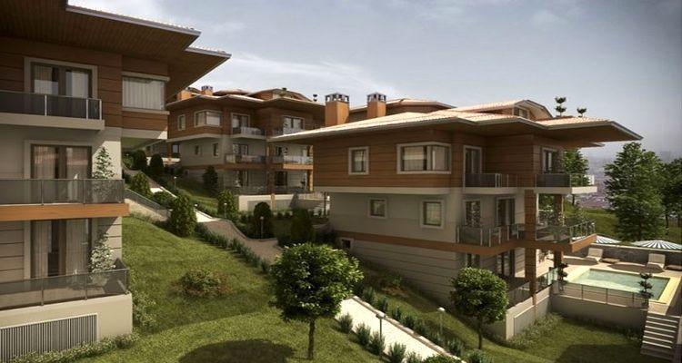 Ekinoks Çamlıca Villaları'nda Yüzde 100 Prim