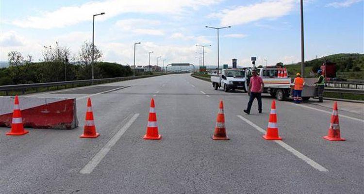 4 Kilometrelik Yol Ulaşıma Kapatıldı
