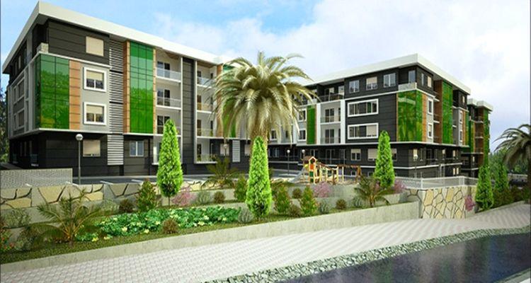 Yeşil Kuşak Evleri 5 Blokta 78 Daireden Meydana Geliyor
