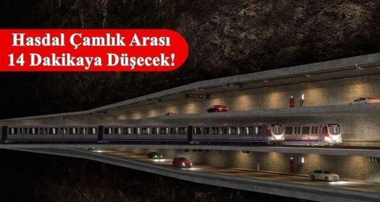 3 Katlı Büyük İstanbul Tüneli Projesine Bütçe Çıktı
