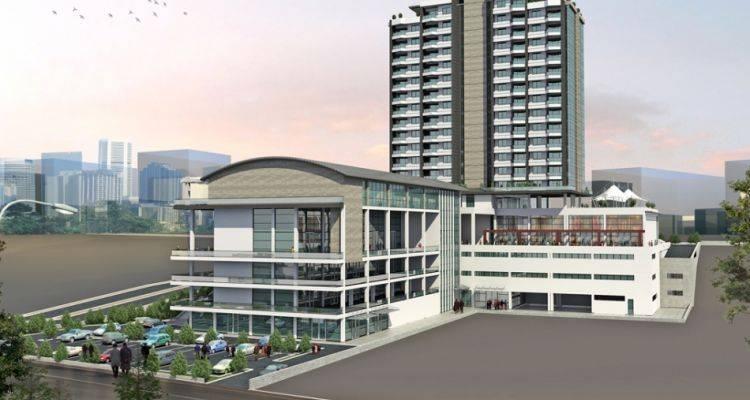 Pelit Plaza Ankara'da Yükseliyor