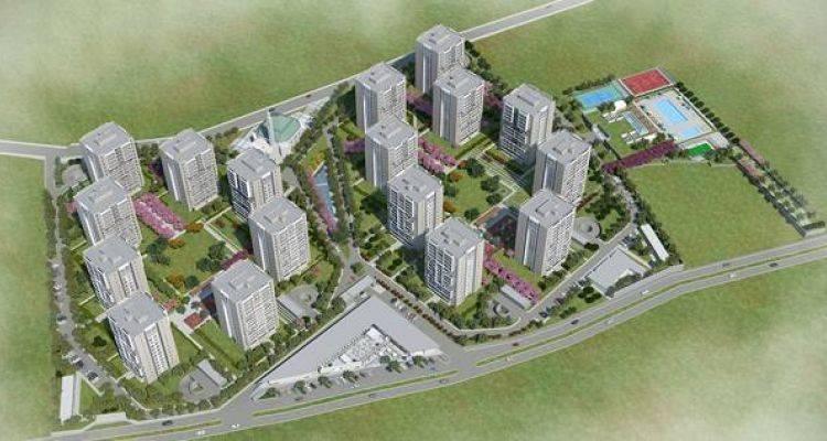 Halk GYO Vakıf GYO Sancaktepe projesi: Bizimtepe Aydos