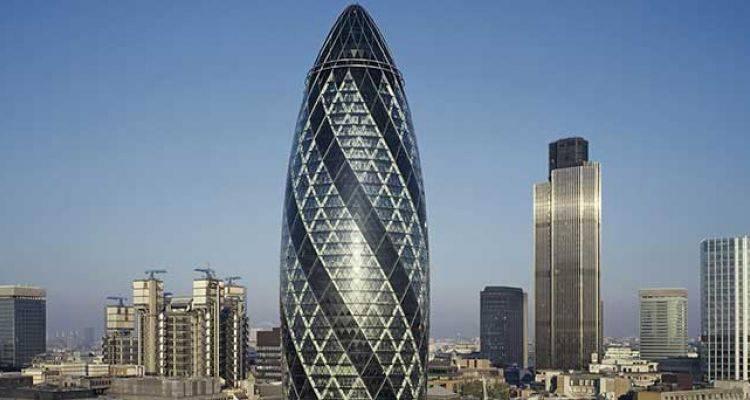 Londra'nın Simgelerinden The Gherkin Satıldı!