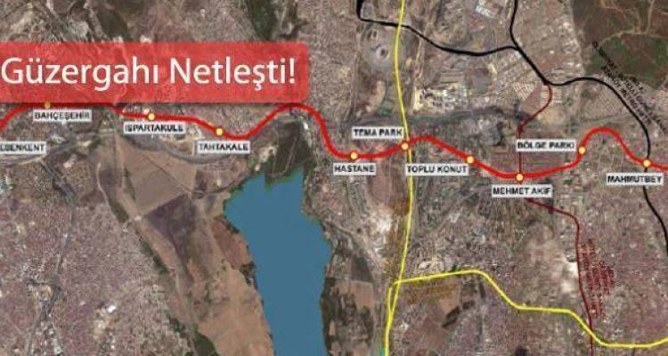Mahmutbey Esenyurt Metro Hattı Başlıyor