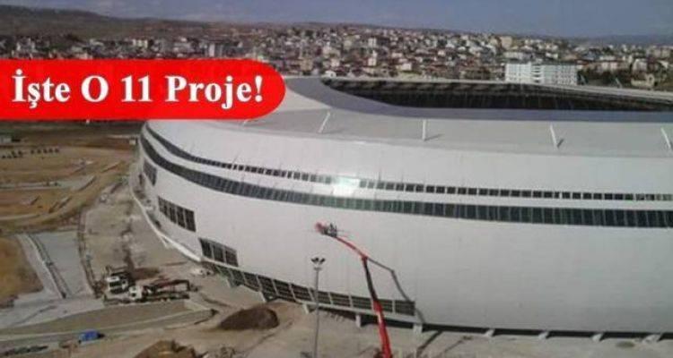 Yapımı Devam Eden Stadyumlar