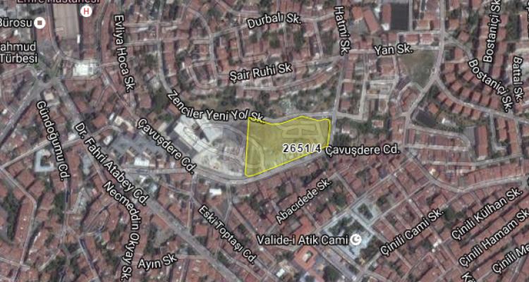 Üsküdar Belediyesi'nden 310 Milyon TL'ye Satılık Arsa