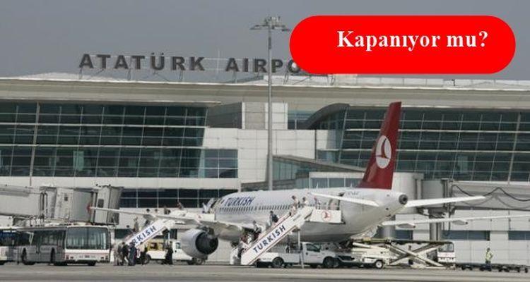 Bakan Yıldırım Atatürk Havalimanı'nın Akibeti İçin Son Noktayı Koydu