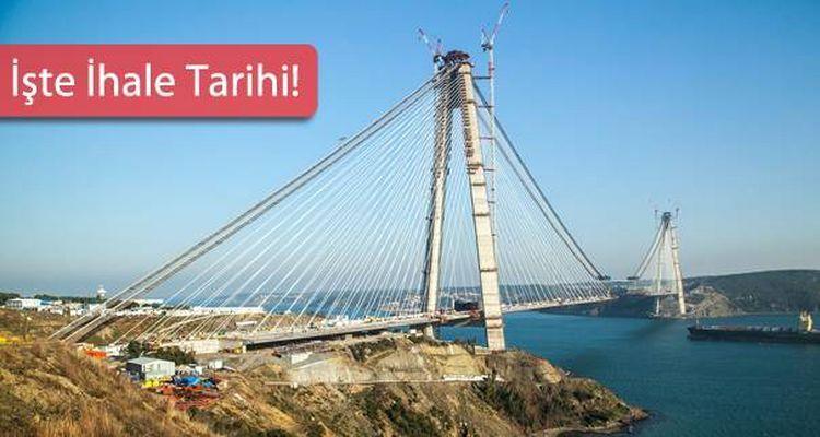 3. Köprü Bağlantı Yolları İhalesi 5. Kez Ertelendi