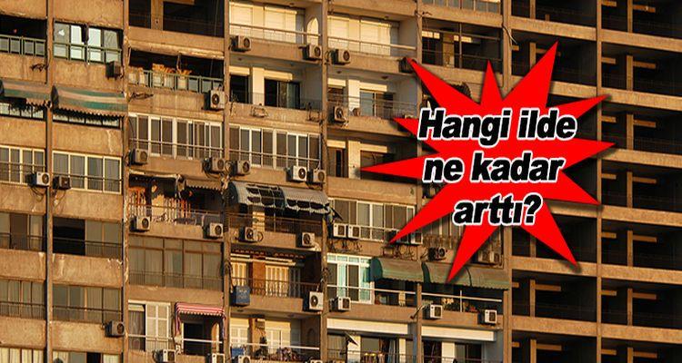 Türkiye'de Ortalama Konut Kirası Ne Kadar?