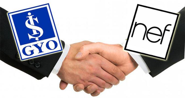 İş GYO ile NEF Arasında 94 Milyon Liralık Anlaşma