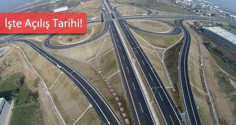 İstanbul İzmir Otoyolu'nun Birinci Kısmı Açılıyor