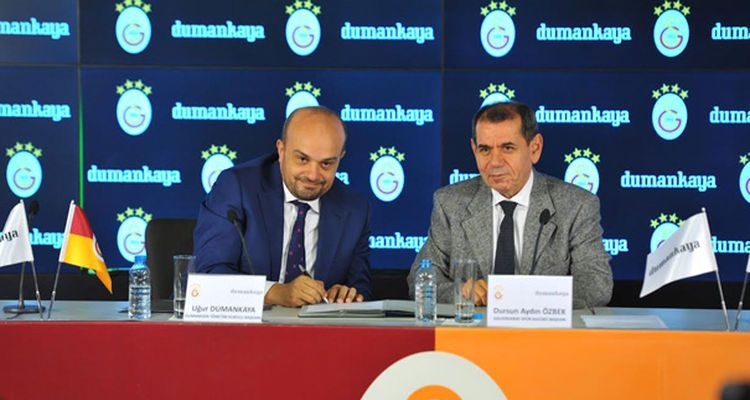 Dumankaya Galatasaray'a Sponsor Oldu