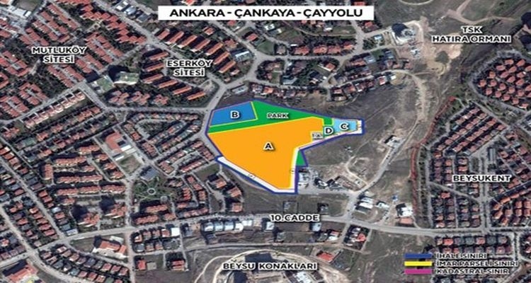 Emlak Konut Ankara Çankaya Projesinde İmzalar Atıldı!